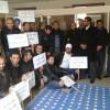 إعتصام أعضاء المكاتب النقابية التعليمية الإقليمية والمحلية بمقر نيابة إقليم وزان