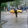 الأمطار توقف حركة السير بأحد شوارع مدينة وزان في ظرف وجيز