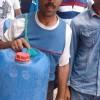 احتجاج مناضلي مصمودة أمام العمالة بسبب ندرة المياه