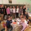 جمعية Morocco Exchange الأمريكية تزور مجموعة مدارس قلعة بني روثن بجماعة عين بيضاء