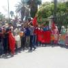 سكان دواري المناثة واخراشيش بجماعة زومي ينتفضون ضد الاستيلاء على صبيب ماء العين الجماعية