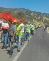 سكان جماعة المجاعرة ينظمون مسيرة احتجاجية للمرة الثانية