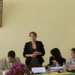 السيدة أمال الهراس مسؤولة مصلحة العلاقات الدولية