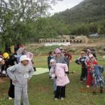 جانب من الأطفال خلال أحد الأنشطة