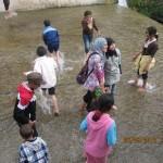 الأطفال في زيارة لراس الما