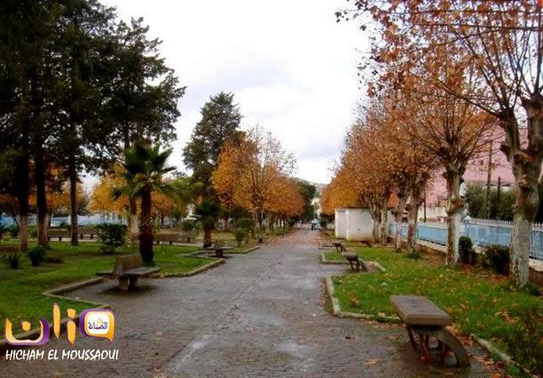 حديقة لالة أمينة بوزان قديما