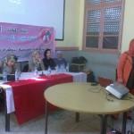 القاء تحسيسي وتوعوي لمنظمة فتيات الانبعاث بوزان