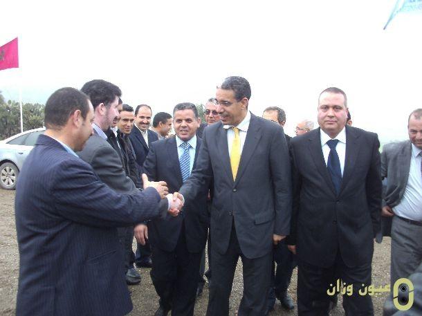 وزير التجهيز والنقل باقليم وزان