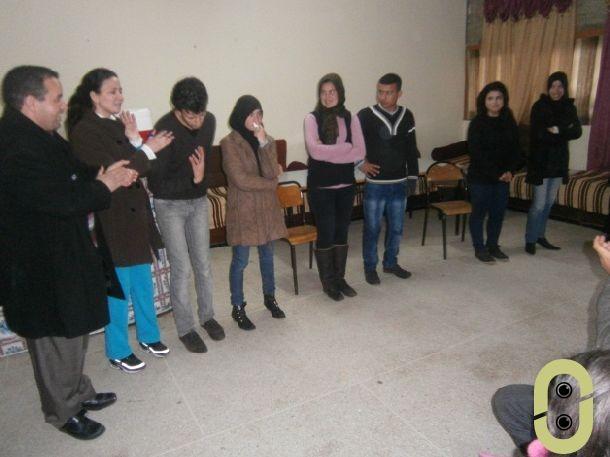 نادي حقوق الإنسان بثانوية ابن زهر التأهيلية