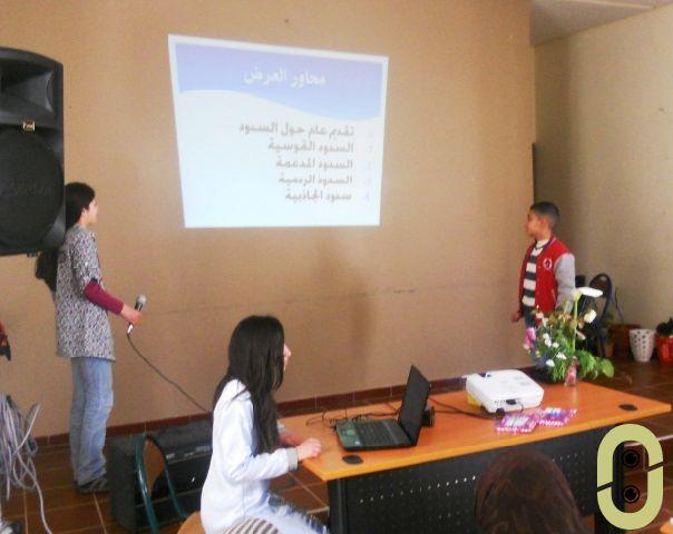 نادي البيئة بمدرسة مولاي المهدي الوزاني