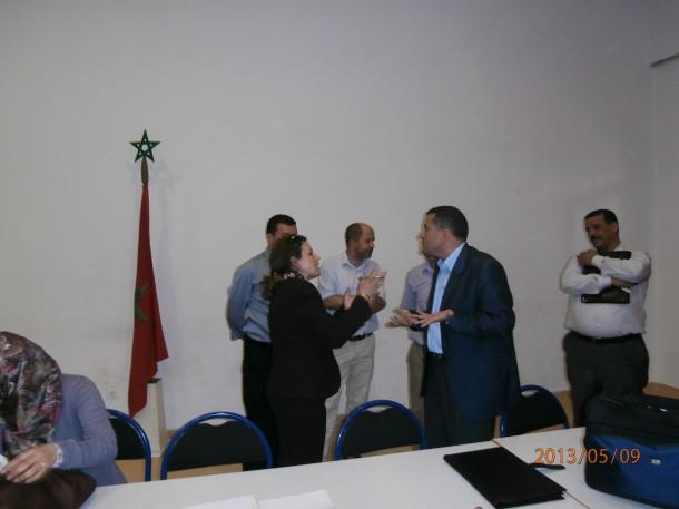 اتفاقية شراكة بين النيابة الإقليمية لوزارة التربية الوطنية والجمعية مديرات ومديري التعليم الابتدائي بالمغرب فرع وزان