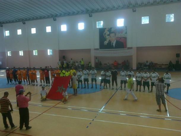 قدماء المنتخب الوطني 86 وقدماء شباب اولمبيك وزان