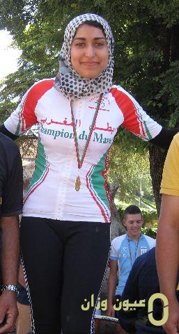 الدراجة الوزانية مريم رحموني