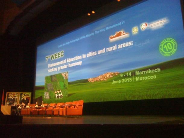 فعاليات المؤتمر العالمي السابع للتربية البيئي