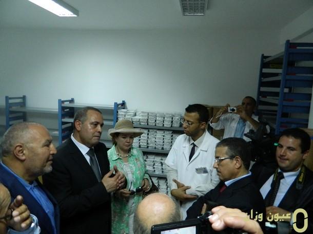 افتتاح مركز تصفية الدم  بوزان