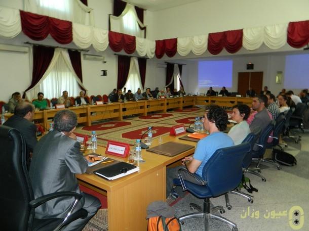 الاجتماع الذي عقد مع وفد الشبكة المتوسطية للمدن العتيقة