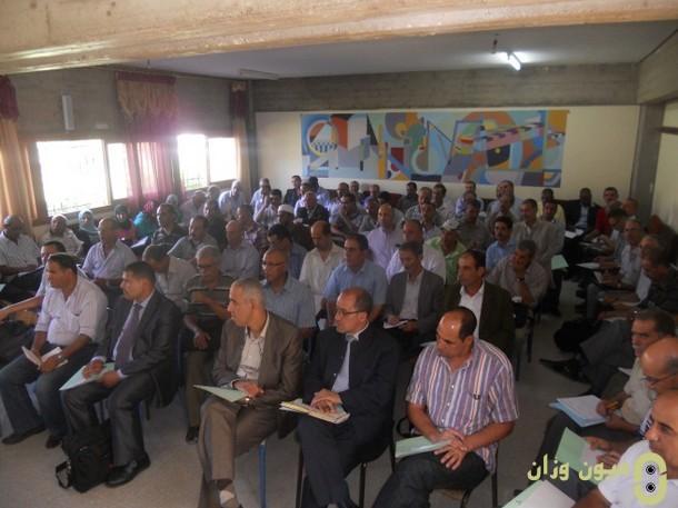 لقاء تواصلي مع مديرات ومديري المؤسسات التعليمية بنيابة وزان