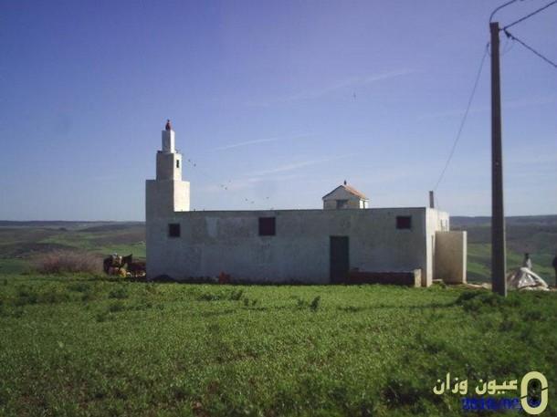 مشروع بناء مسجد بدوار الجرف قيادة عين دريج إقليم وزان