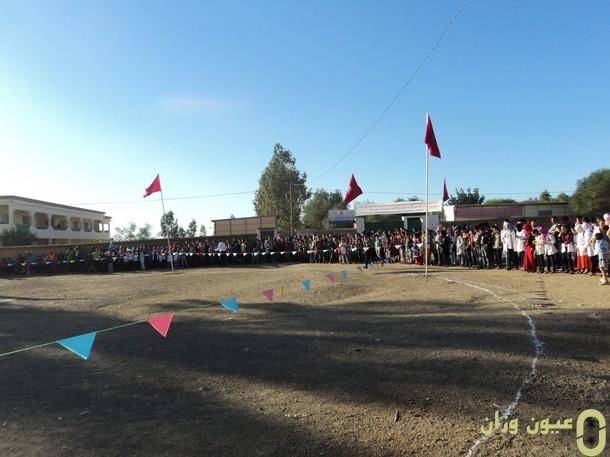 جماعة سيدي رضوان بوزان تحتضن تظاهرة رياضية مدرسية