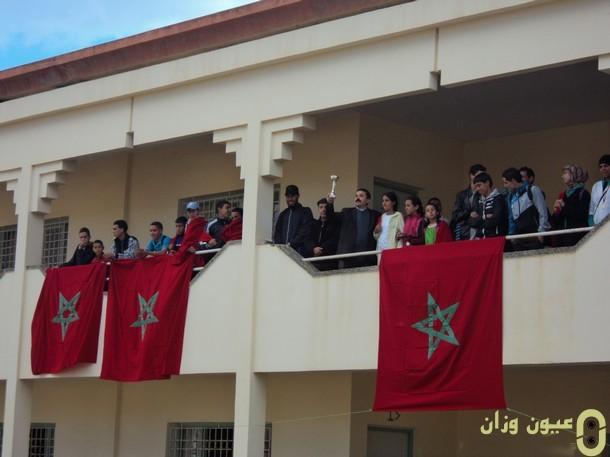 الفائزين بالبطولة الإقليمية المدرسية للعدو الريفي