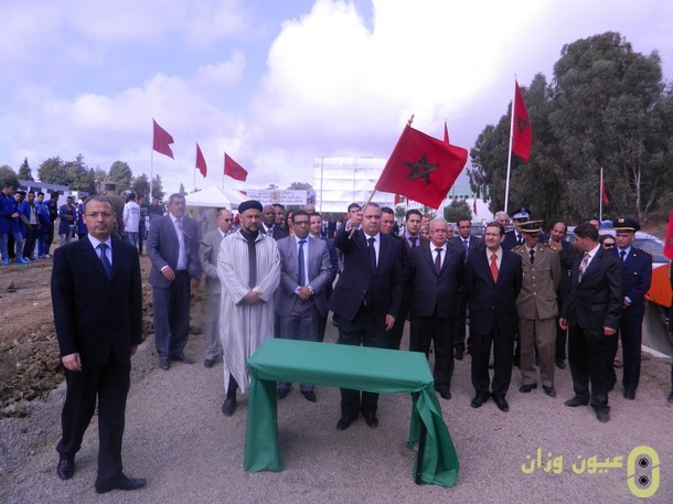 مشاريع تهيئ وإصلاح مسالك قروية بإقليم وزان