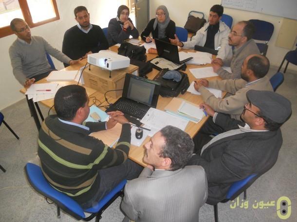 لقاء مستشاري في التوجيه بنيابة وزان