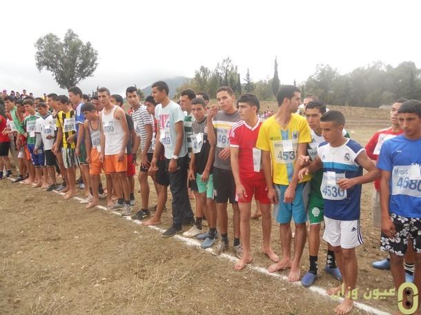 البطولة الإقليمية للعدو الريفي برسم الموسم الدراسي 2013/2014 وزان