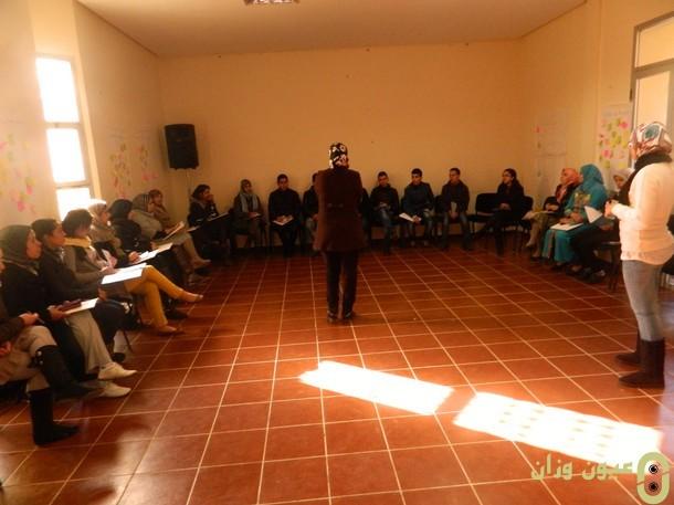 دورة تكوينية حول برنامج المواطن الفعال بوزان