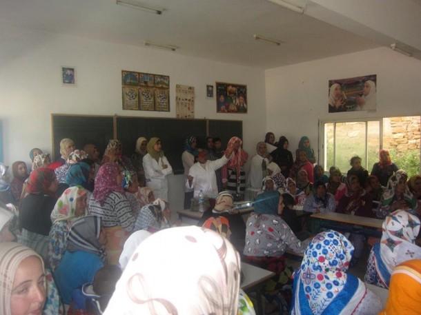 المجتمع المدني بعين دريج في خدمة صحة المواطن