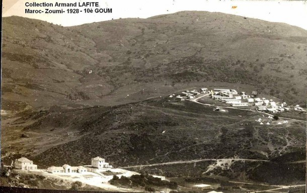 زمي في سنة 1928 Maroc-Zoumi-1928 -10é GOUM