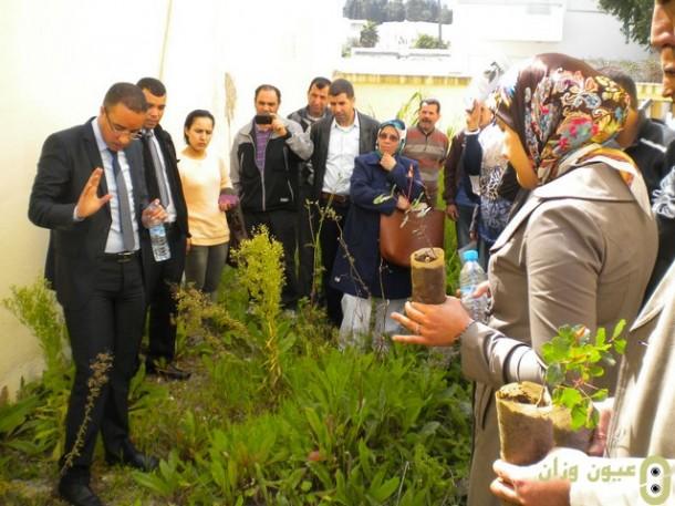 دورة تكوينية بنيابة وزان لفائدة منسقات ومنسقي أندية التربية البيئية والتنمية المستدامة
