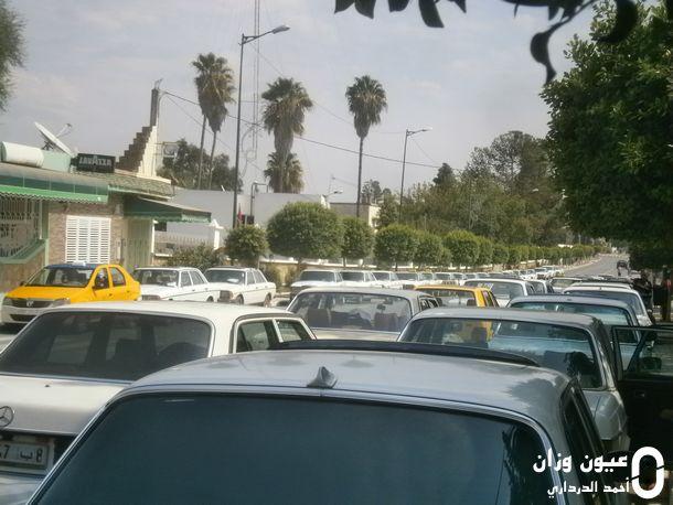 جانب من سيارات الأجرة