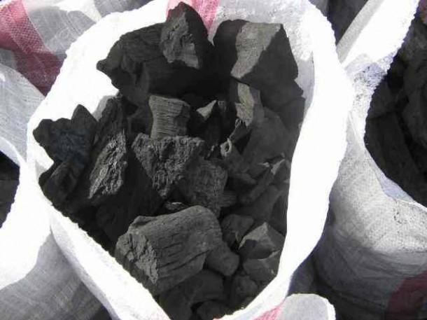 الفحم الخشبي وزان