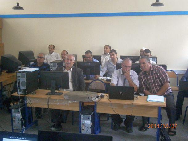 جانب من المشاركين في الدورة التكوينية