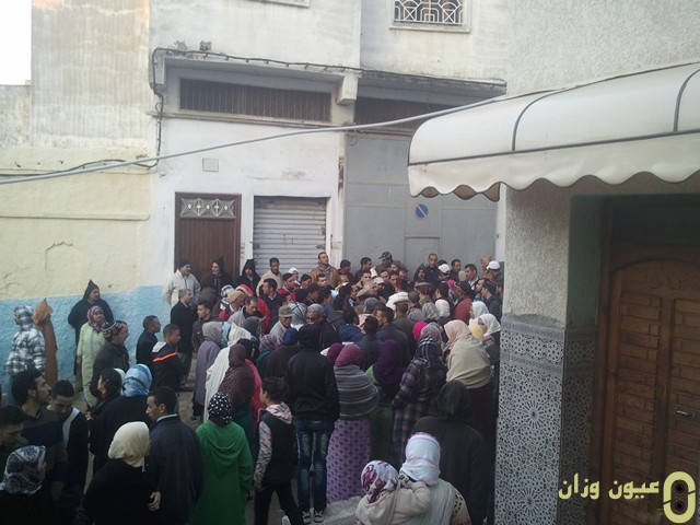 السلطة المحلية تتوصل لاتفاق مع فراشة شارع محمد الخامس بوزان
