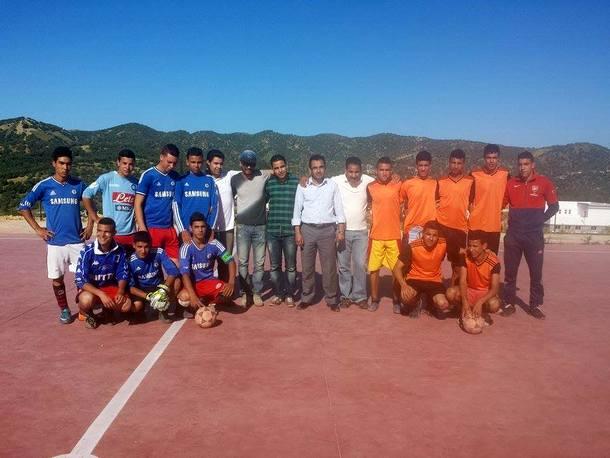 اختتام دوري ثانوية سيدي بوصبر التأهيلية لكرة القدم المصغرة