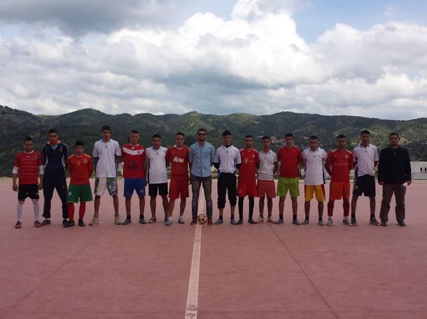 دوري ثانوية سيدي بوصبر التأهيلية لكرة القدم المصغرة