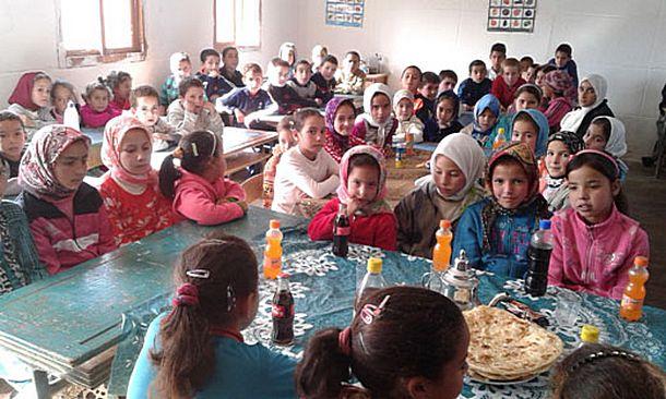 وحدة سيدي علي التابعة لمجموعة مدارس المصامدة تحتفل بنهاية الدورة الأولى