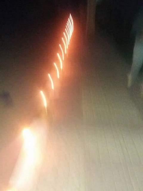 تروال تحتج بالشموع على غياب الإنارة