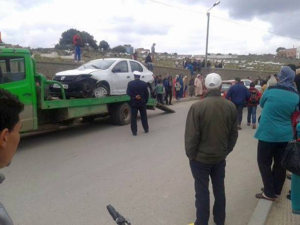 اصابة ثلاث تلميذات في حادثة سير خطيرة بوزان