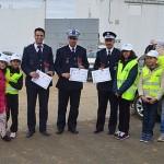 احتفال تلاميذ مجموعة مدارس الأفق باليوم الوطني للسلامة الطرقية