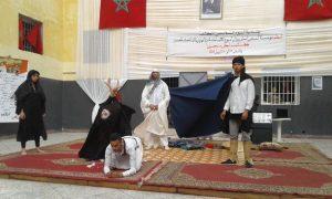 ثانويتا ابن زهر ومولاي عبد الله الشريف بوزان تشاركان مؤسسة السجن المحلي بوزان احتفالاتها باليوم العالمي للكتاب