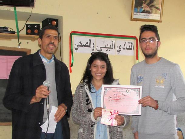 النادي البيئي والصحي بثانوية مولاي عبد الله الشريف التأهيلية بوزان يختتم أنشطته السنوية