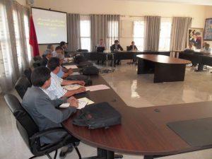 لقاءات تواصلية حول إجراءات تدبير الامتحانات الإشهادية للموسم الدراسي 2015-2016 بالمديرية الإقليمية لوزان
