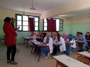 أيام تحسيسية بأهمية الاستعداد للامتحانات بثانوية عمر الخيام التأهيلية بتروال إقليم وزان