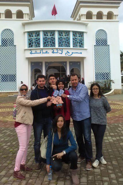 ثانوية ابن زهر التأهيلية بوزان تتألق  في المسابقة الجهوية لفن الخطابة باللغة الإنجليزية بالمضيق شمال المغرب