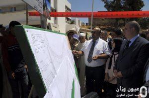 تدشين وإعطاء انطلاق مشاريع تنموية بجماعة سيدي بوصبر