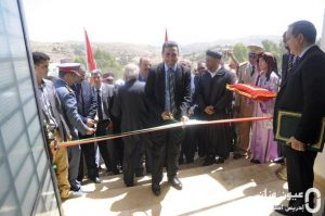 إعطاء انطلاقة وتدشين مشاريع بجماعة قلعة بوقرة