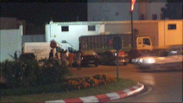 صورة شاحنة المخدرات التي تم حجزها