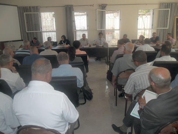 لقاءات مع مديري المؤسسات التعليمية